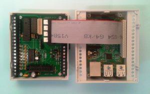 Hubo Maxi 1.11 inkl. Raspberry Pi im Hutschienengehäuse