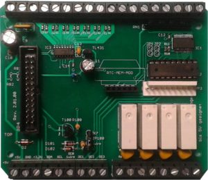 Raspberry Pi IO Board Hubo Maxi Rev. 2.01