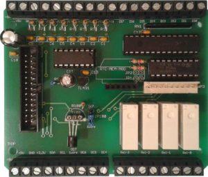 Raspberry Pi IO Board Hubo Maxi Rev. 1.00